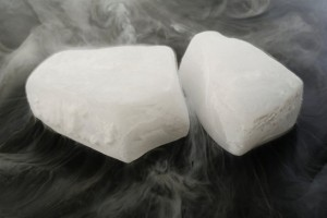 How Dry Ice Can Help You During a Snowstorm