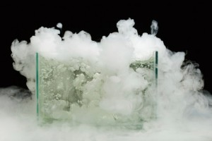 Dry ice for your Halloween dinner party