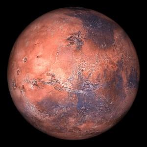 Dry Ice on Mars