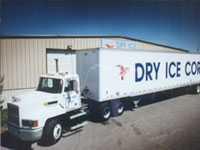 Dry Ice for Commercial Food Services
