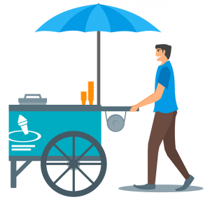 How Dry Ice Can be Used in Ice Cream Carts